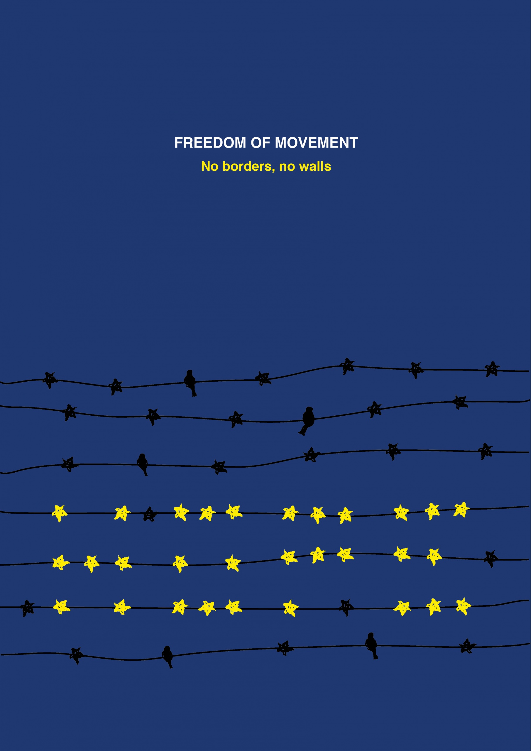"International Poster Competition – Poster for Tomorrow 2017 ""Freedom of Movement""."